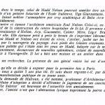 Texte de Rudy Caumont (galeriste du Solstice)